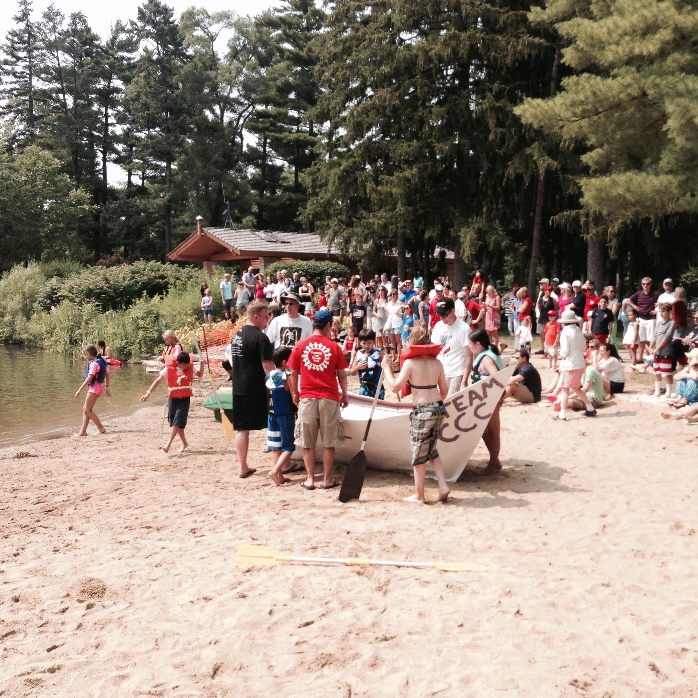 July 4th Boat Launching