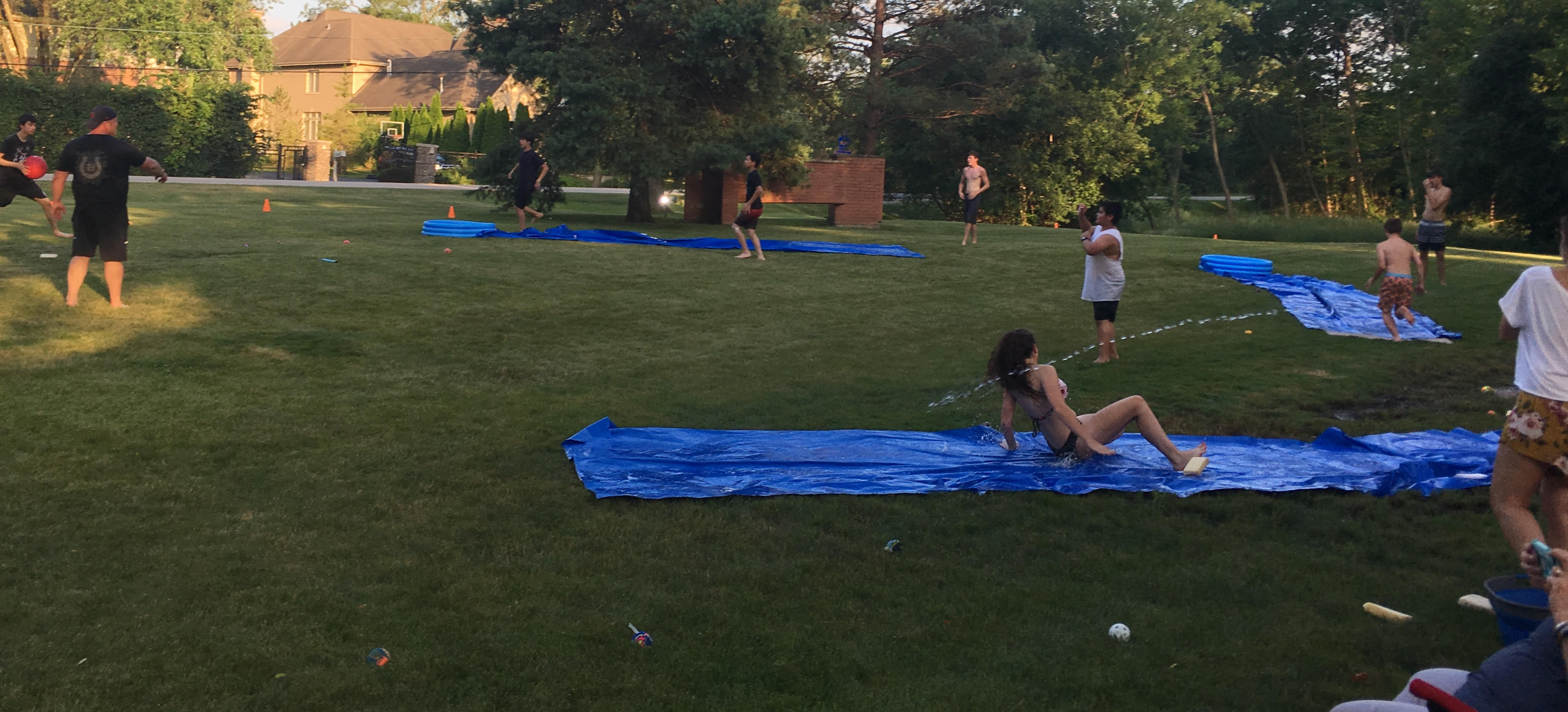 Lock-In Slip n Slide Fun